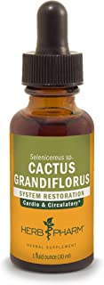 Herb Pharm Cactus Grandiflorus Liquid Extract for Cardiovascular Circulatory Support - 1 Ounce