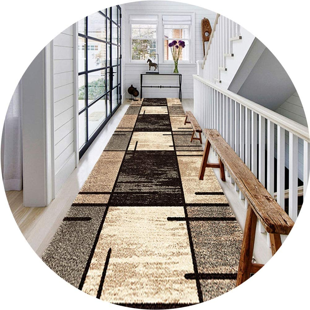 At the price KKCF Long Runner Area Rug Stain D Hygroscopic Max 46% OFF Non-Slip Resistant