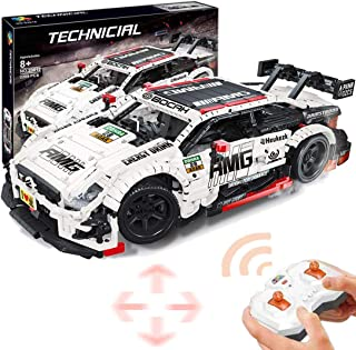 1:8 Technic AMG Benz C63 Sports Car Building Set with Motor, RC Sports Car Construction Set Compatible with Brand Building...