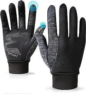 Running Winter Gloves Outdoor Touch Screen for Women Men Smartphone Mens Gloves Winter