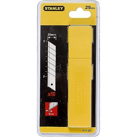 STANLEY 0-11-325 Hoja precortadas 25 mm, Plateado, 25mm