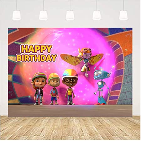 Motown Magic Kids\u2019 Birthday Party Toppers Birthday MotownMagic Toppers Character Party Decor