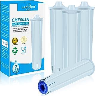 LADYSON Cartouche filtrante pour Jura Claris Blue, filtre à eau pour les machines à café entièrement automatiques de Jura,...