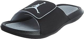 Nike Mens Jordan Hydro 6 Black Grey Synthetic Sandals 10 US