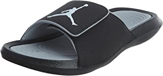 Jordan Nike Men's Hydro 6 Black/White Wolf Grey Sandal 10 Men US