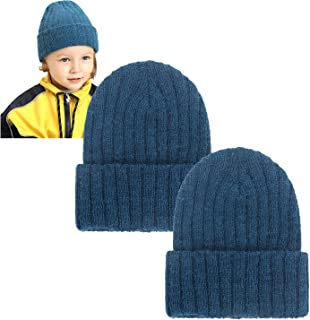 Baby Winter Beanies Soft Warm Knitted Baby Hats Caps Cute Wool Winter Newborn Infant Toddler Beanies Set for Boys Girls