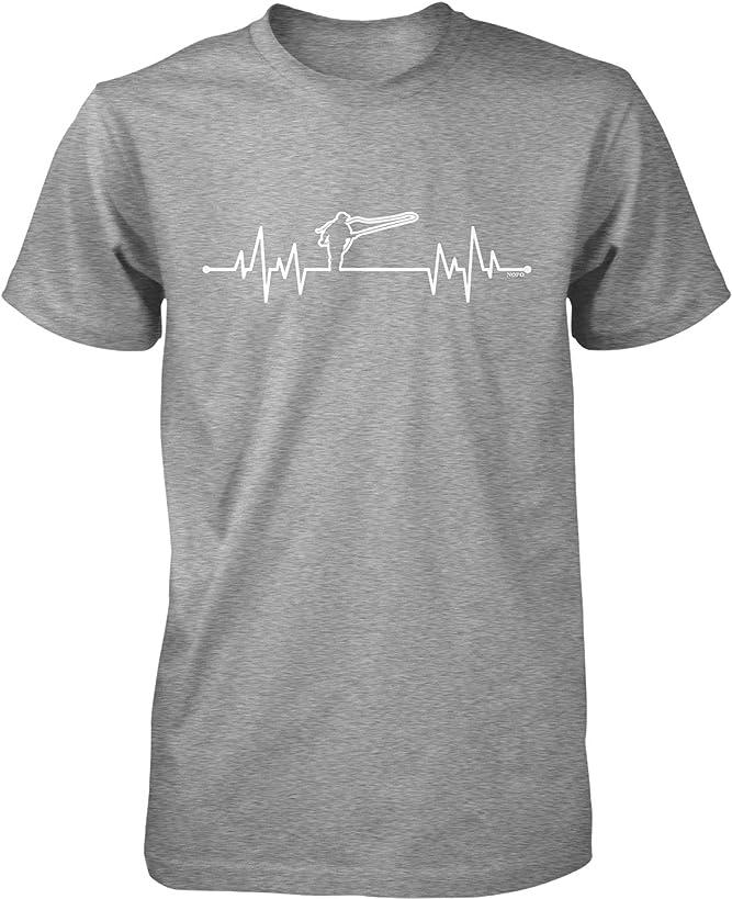 NOFO Clothing Co Fly Fishing Heartbeat Men's T-Shirt