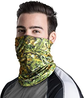 Neck Gaiter Fishing Mask Bandana Sun Wind Dust Protection UV UPF 50+ Camo Headwear Balaclava Magic Scarf for Men Women Hunting, Cycling, Motorcycling, Running