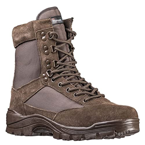 419cd3f4317 Mil-Tec Tactical Army Boots with Side Zip