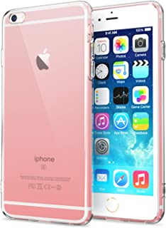 """NEW'C Hoesje voor iPhone 6, 6s (4.7""""), siliconen TPU transparant - HD Crystal Clear"""