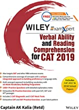 Wiley's ExamXpert Verbal Ability and Reading Comprehension for CAT 2019