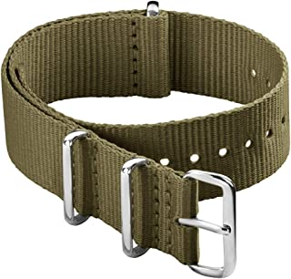 Archer Watch Straps - Classic Nylon NATO Straps | Choice of Color and Size (18mm, 20mm, 22mm, 24mm)