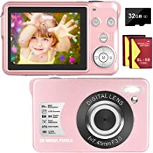 Digital Camera 30MP Camera 1080P Compact Camera 2.7 inch...