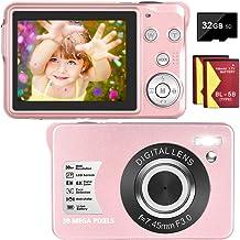 Sponsored Ad – Digital Camera Vlogging Camera 1080P 30 MP Compact Camera 8X Digital Zoom Mini Camera 2.7 Inch LCD Screen C...