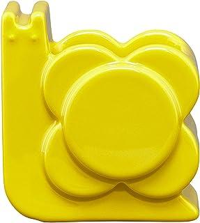 Orla Kiely Kształt rośliny doniczkowo-ślimak design - mniszek lekarski, żółty, jeden rozmiar