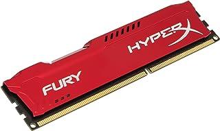 Kingston HyperX FURY 8GB 1600MHz DDR3 CL10 DIMM - Red (HX316C10FR/8)