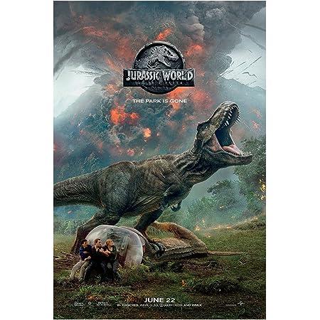 """Jurassic World Fallen Kingdom Movie 2018 Poster Silk Print 13x20/"""" 24x36/"""" 27x40/"""""""