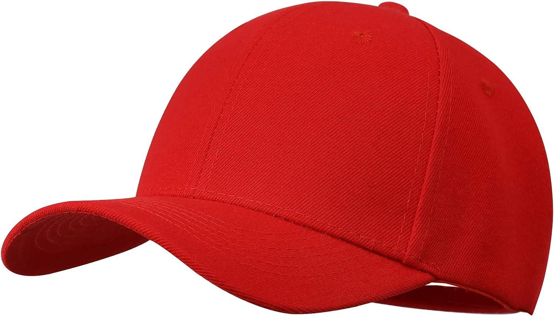 Baseball Cap Men Women Plain Low Profile Sports Solid Adjustable Blank Ball Dad Hats
