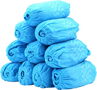 100 Pack Shoe Covers - Disposable Boot Cover for Medical, Construction, Workplace, Indoor Carpet Floor Protection - Non-Slip by THETIS Homes …