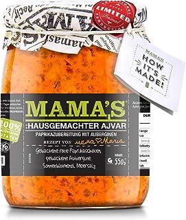 Mama's Homestyle Ajvar Roasted Pepper Spread Mild19oz By: Egourmet