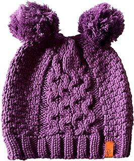 Patrick Francis Purple Shamrock Kids Bobble Hat