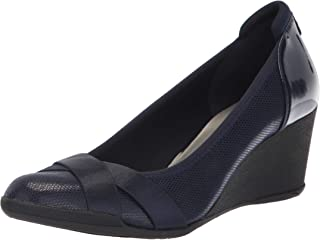 حذاء الكعب تايماوت بكعب وتدي للسيدات من آن كلاين