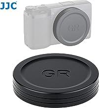 JJC LC-GR3 Metal Lens Cap for Ricoh GR III and GR II Camera, Ricoh GR III Lens Cap, Ricoh GR II Lens Cap, Made of Premium Aluminium Alloy