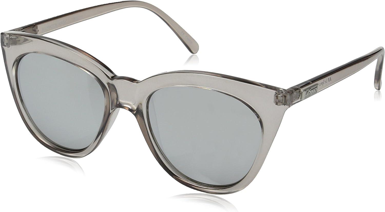 Le Specs Halfmoon Magic Sunglasses One Size Stone