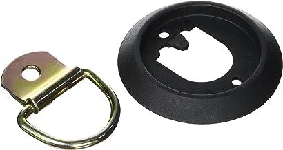 Docks GMAR47 ronde sjorring, verzinkt staal en polyamide, werkbelasting 272 kg, dikte 11 mm, diameter 100 mm, grijs/zwart