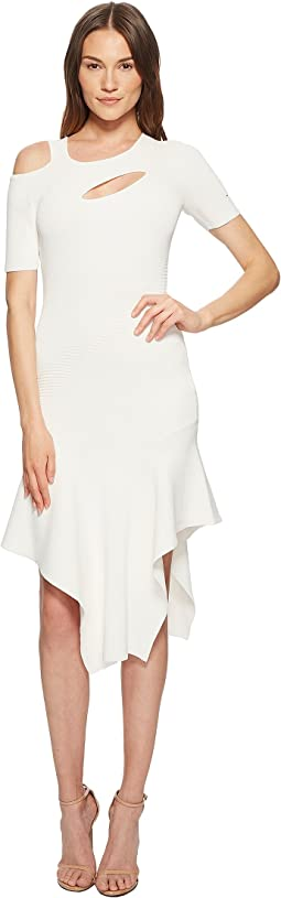 Cut Out Asymmetrical Dress