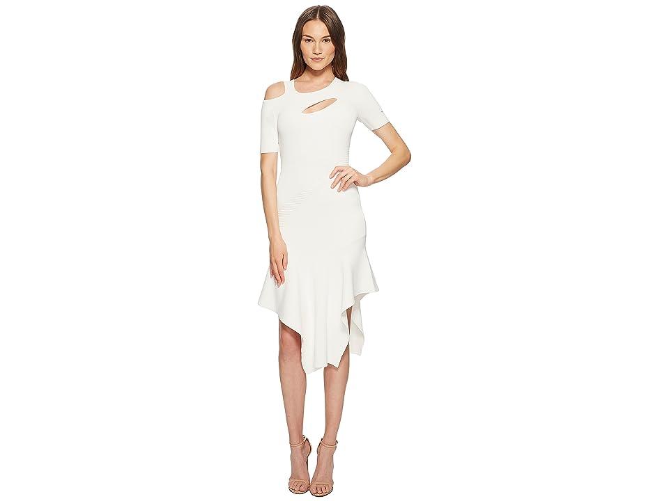 YIGAL AZROUEL Cut Out Asymmetrical Dress (Optic) Women