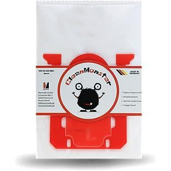 10 Mr.Clean Staubsaugerbeutel geeignet für Rossmann R 040 R040