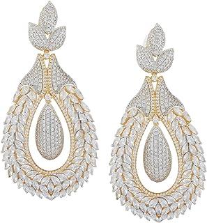 4abc4df83860ac SHAZE Regal Drop Earrings|Earrings for Women|Earrings for Women Stylish