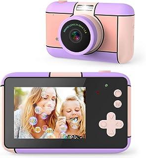 joylink Cámara para Niños, 2,4 Inch Pantalla Cámara de Fotos para Niños Cámara Selfie de 16MP 1080P HD Video Cámara Digita...