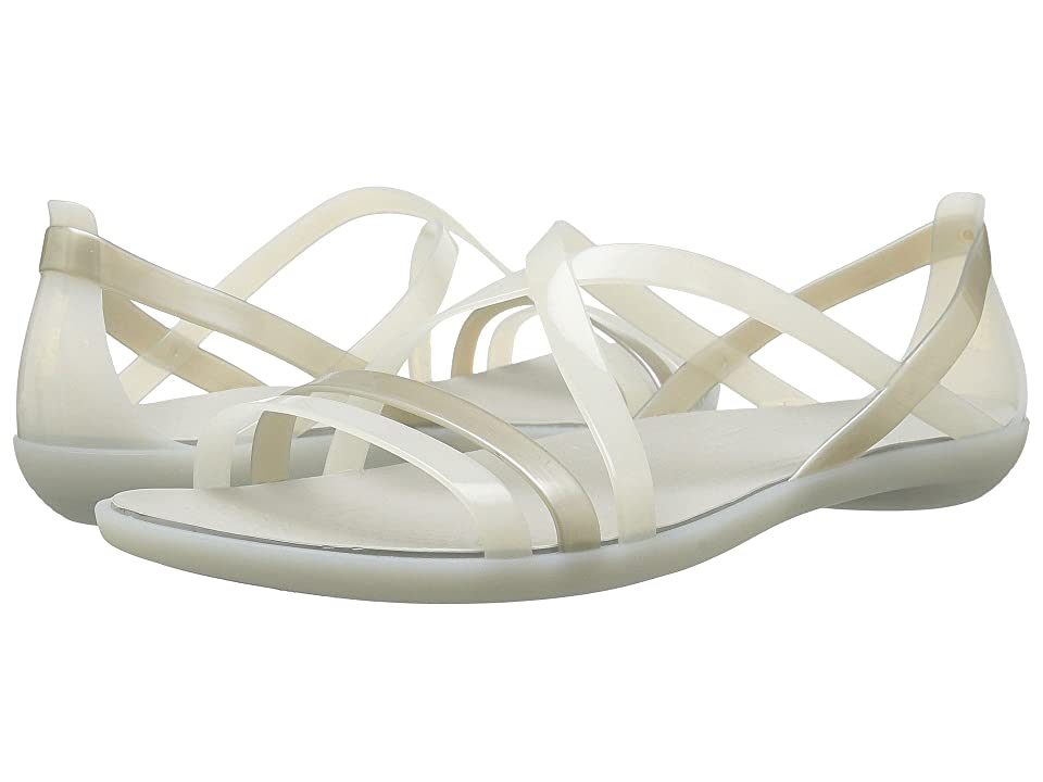 Crocs Isabella Strappy Sandal (Oyster/Pearl White) Women