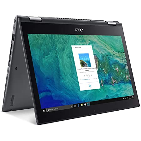 "Acer Spin 5 SP513-52N-52PL, 13.3"" Full HD Touch, 8th Gen Intel Core i5-8250U, Alexa Built-in, 8GB DDR4, 256GB SSD, Convertible, Steel Gray"