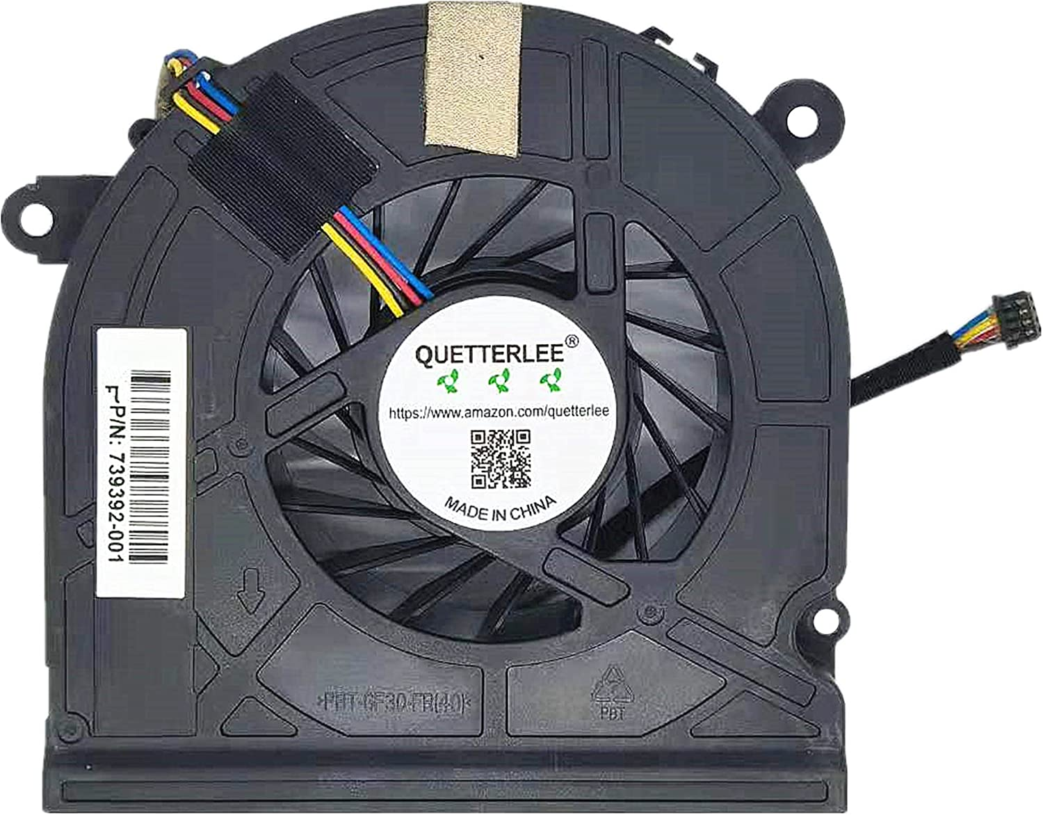 Cheap sale Cheap mail order shopping QUETTERLEE Replacement New CPU Cooling HP 23-G for Pavillion Fan
