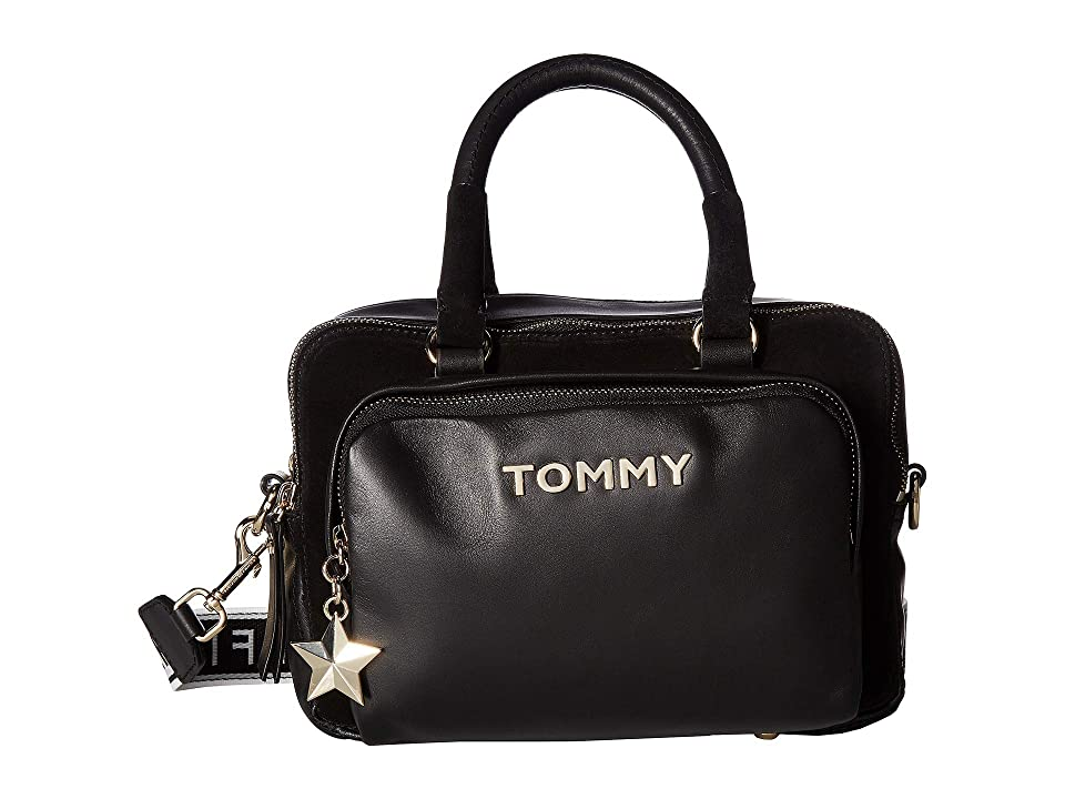 Tommy Hilfiger Corporate Highlight Duffel (Black) Duffel Bags