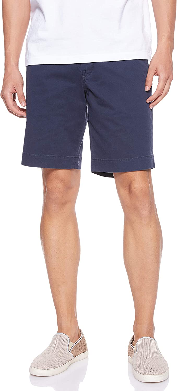Polo RL Men's Flat Front Chino Cuffed Pony Shorts