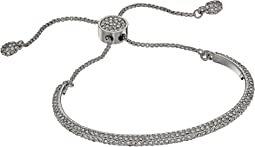 Crystal Pave Adjustable Slider Bracelet