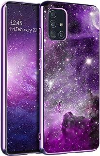 BENTOBEN Samsung A71 5G Case, Slim Fit Glow in The Dark Shockproof Hybrid Hard PC Soft TPU Bumper Anti Scratch Sturdy Non ...