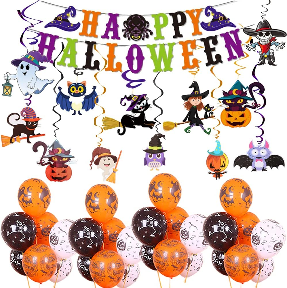 Halloween Party Fixed price for sale Decorations Supplies 41PCS Kids Shipping included for Ba