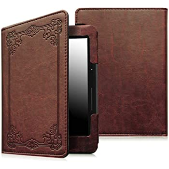 Fintie Folio Case for Kindle Paperwhite - Fits All Paperwhite Generations Prior to 2018 (Not Fit All-New Paperwhite 10th Gen), Vintage Antique Bronze