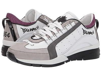 DSQUARED2 551 Sneaker (White/Fuchsia) Men