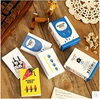 Excellent 48 pcs/lot cute pattern paper matchbox sticker sticky decoration decal diy album diary scrapbooking stationery W...