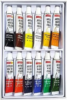 Camlin Kokuyo Artist 5ml Water Color Set - 12 Shades (Multicolor)