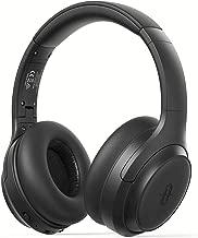 TaoTronics Auriculares Cascos Active Cancelación de Ruido HVC 8.0 con 30 Horas Bluetooth 5.0 Hi-Fi Sonido Estéreo para PC/Teléfonos Celulares/TV - Negro