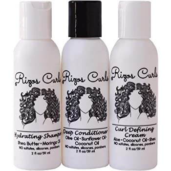 Amazon Com Pattern On The Go Hair Care Kit Includes Hydration Shampoo Heavy Conditioner And Leave In Conditioner Shampoo And Conditioner For Curly Hair Perfect For Curlies Coilies Tight Texture Hair Beauty