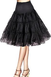 Tidetell Vintage Women's 50s Petticoat Crinoline Tutu Underskirt 26