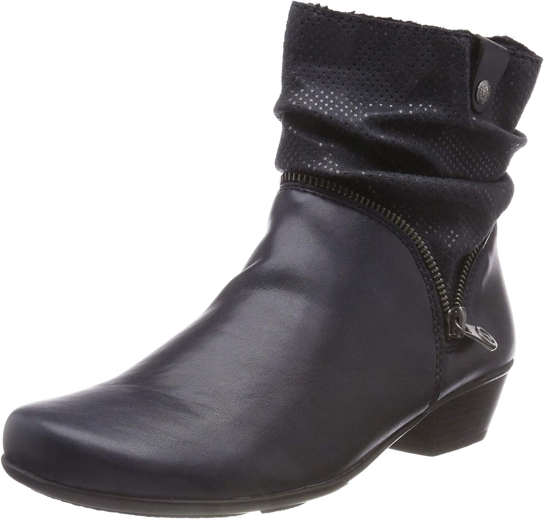 Rieker Women Ankle Boots bluee, (Navy Pazifik) Y7368-14